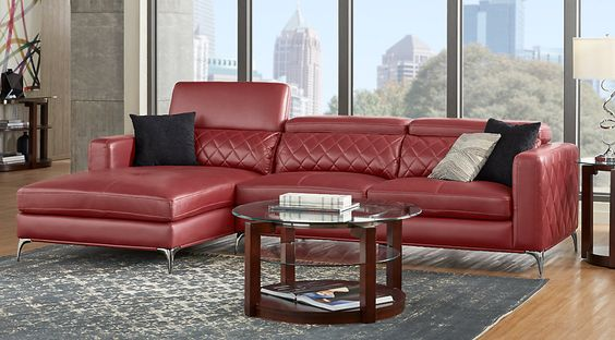 Shop for a Novello Black 5 Pc Sectional Living Room at Rooms To Go