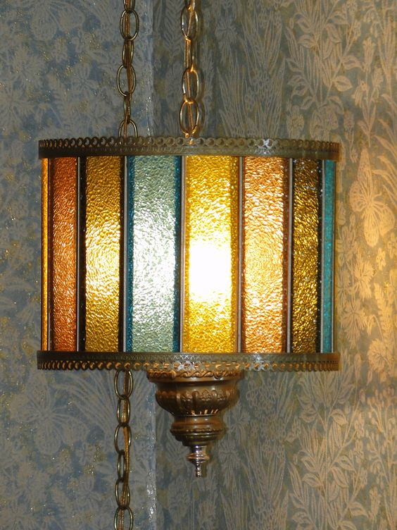 Vintage swag lamps avail Jan 10-12 at our Cicero, IL estate sale! Details at: http://xcntricestates.com