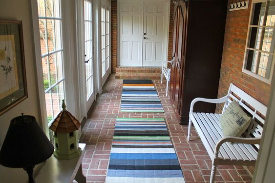 Turn A Breezeway Into A Mud Room | Breezeway, Mud Rooms And Front Entry