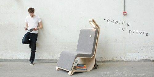 清新簡約的閱讀系列家具-Life 生活網