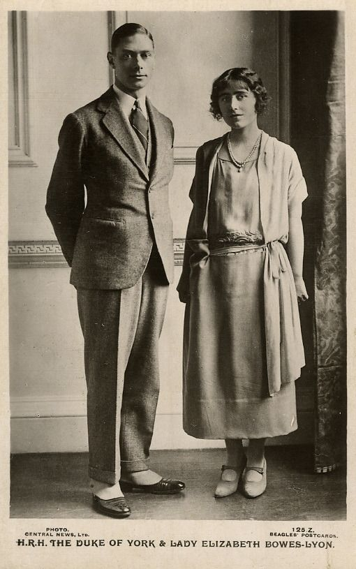 The Queen Mother In The 1920s 1 Lady Elizabeth Bowes Lyon 2 Lady Elizabeth Bowes Lyon When Duchess Of York 3 Herzog Queen Mother Lady Elizabeth George Vi