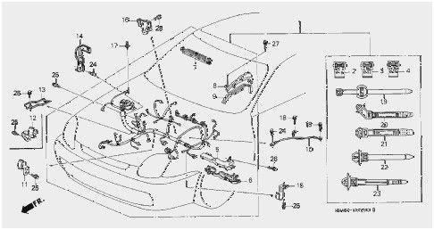 [DIAGRAM] 1997 Honda Civic Engine Mounts Diagram