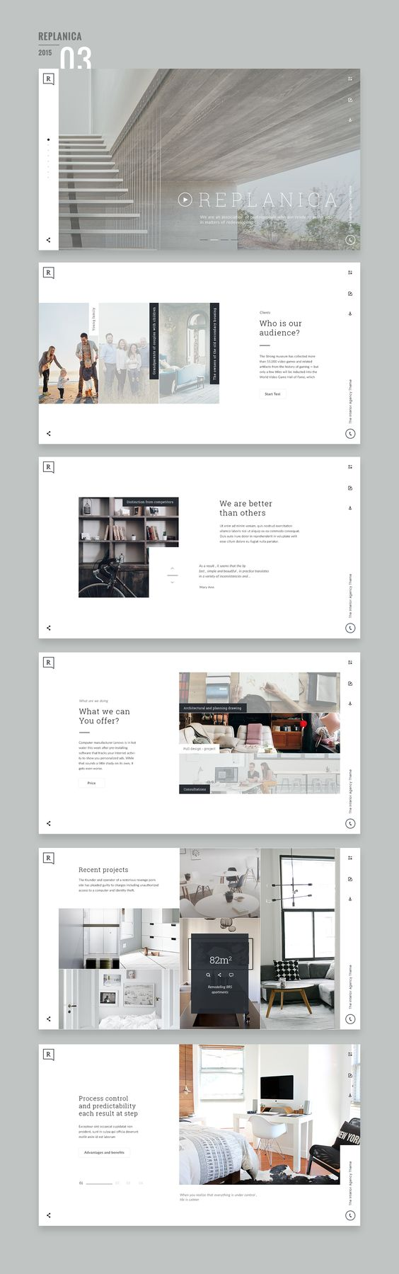 Website Design 2015/16 on Behance