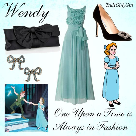 Disney Style: Wendy, created by trulygirlygirl on Polyvore