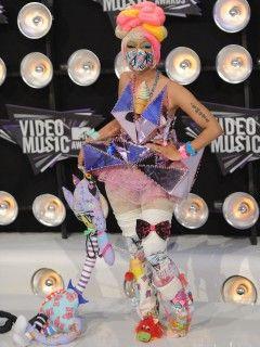 Nicki Minaj: Welches Outfit ist ausgeflippter?