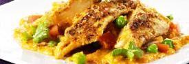 Een heerlijk gerecht met kokos en Thaise curry is het echt een smaak sensatie. Gezond en lekker Ingrediënten: - 1 theelepel curry poeder - 1 rode peper - 2 teentjes knoflook - 1 theelepel sesam olie - 2 theelepels geraspte gember - 4 theelepels soya saus...
