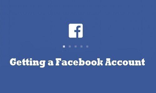Getting A Facebook Account Facebook App Download How To Create A Facebook Account Facebook App Download Facebook App Account Facebook
