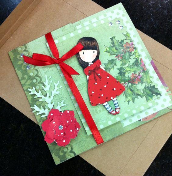Cartão de Natal para troca Gorjuss by Alê Perrone