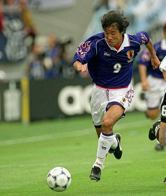 Argentina 1 Japan 0 in 1998 in Toulouse. Masashi Nakayama makes an early break in Group H #WorldCupFinals