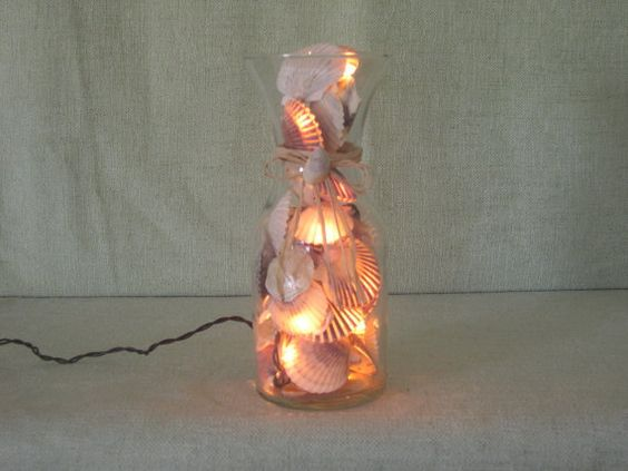 You will love our 'Nantucket Scallop Shell Night Light … similar to the scallop shell string of lights {one might typically find}, HOWEVER, ours