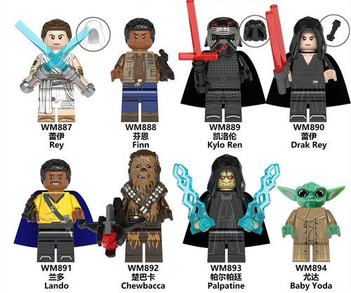 Pin On Star Wars Minifigures Fit Lego