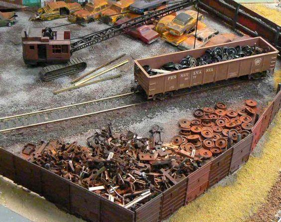 Military Railroad N Scale Old-Time Gondola Car U.S