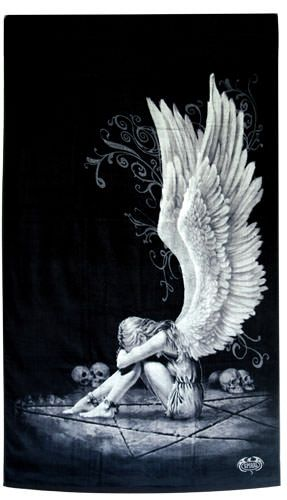 Spiral - Enslaved Angel Bath Towel