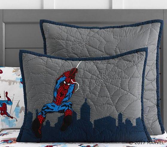 "Pottery Barn Kids /""Amazing Spider-Man/"" Pillowcase"
