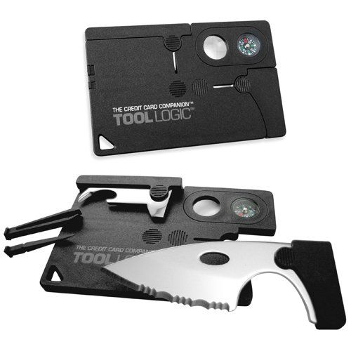Tool Logic CC1SB Credit Card Companion with 1 2-Inch Knife - credit card form
