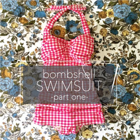No longer is sewing garments restricted to dresses, pants, skirts, and tops! More and more sewers are branching out into all of those unmentionables, including me. I've been sewing for over 30 years, and never once did I consider making my own swimsuit, until now. Be a bombshell: Read on to learn how to sew a swimsuit that fits and flatters your body!