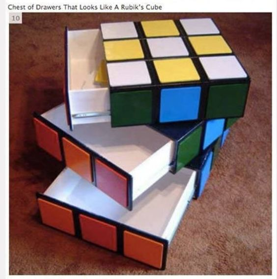 Rubrics Cube drawers