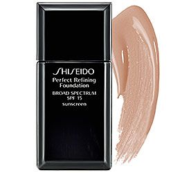 Sephora: Shiseido : Perfect Refining Foundation Broad Spectrum SPF 15 : foundation-makeup