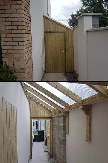 Lean To Sheds Roofing Carpenter Mac Carpentry In 2020 House Extension Design Open Shed Lean To