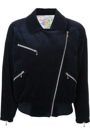 Damenjacken - Courrèges Vintage Corduroy Bomber Jacket