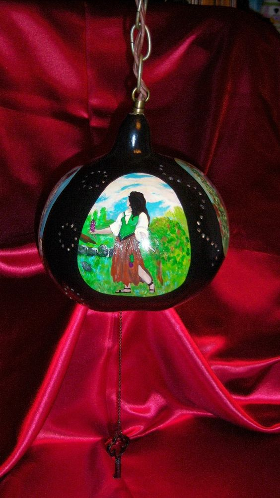 Women of History Hanging Lamp. $50.00, via Etsy.