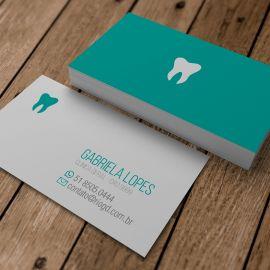Cartão de Visita Slim - Minimalista - Soft