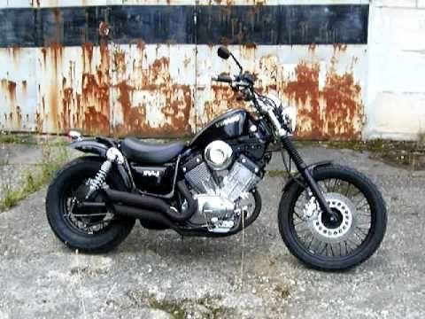yamaha xv 535 virago oldschool bobber voitures et motos. Black Bedroom Furniture Sets. Home Design Ideas