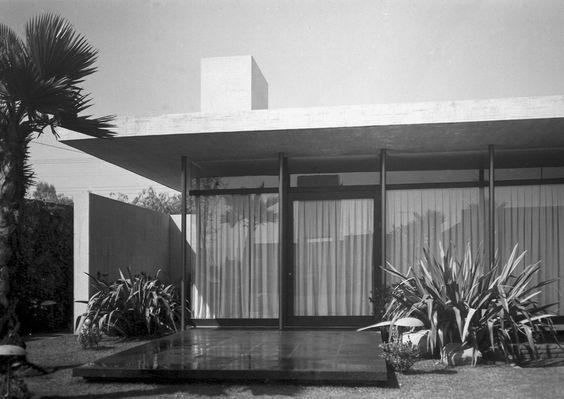 Casa, Pedregal, Mexico, 1963