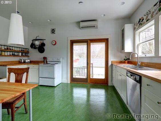 Marmoleum Floor Home Pinterest Floors Kitchen