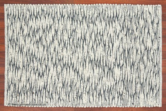 Brisbane City Rug, a luxury felted wool hand-woven rug with pebble like texture in cream & grey http://www.therugswarehouse.co.uk/modern-rugs3/city-rugs/brisbane-city-rug.html #rugs #interiors #monochrome