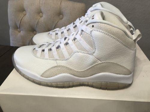 buy online 92d7b 60ec9 DS Nike Air Jordan Retro 10 OVO Size 8 Flight Club tbh gold ...