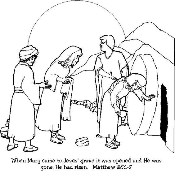 Jesus Empty Tomb Clip Art Google Search Coloring Pics