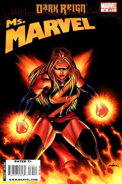 Ms. Marvel Vol. 2 # 35 by Ed McGuinness & Dexter Vines