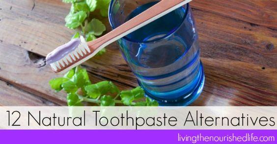 Toothpaste alternatives