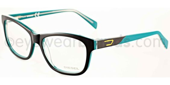 Blue Black Glasses Frames : Diesel DL 5040 Diesel DL5040 92A Black/Blue Glasses ...