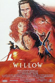 "One of THE BEST lines from a movie: ""Went away? ""I dwell in darkness without you"" and it *went away*?"", Sorsha from WILLOW. Love this movie!"