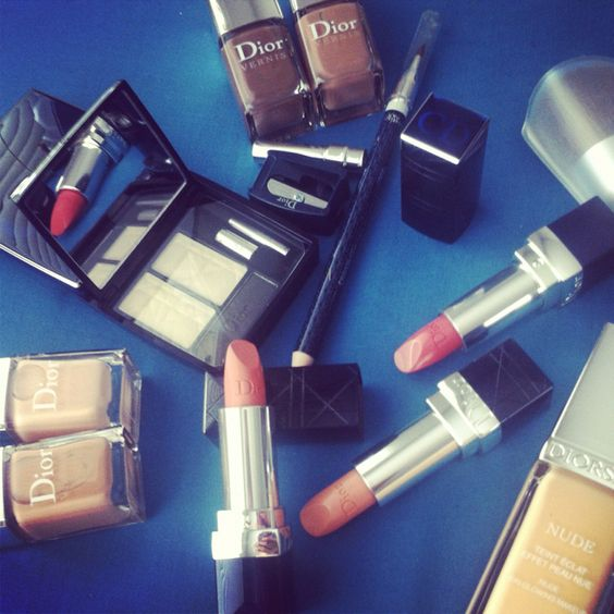 #Dior's nude beauty collection for Fall 2012! #makeup #beauty #falltrends