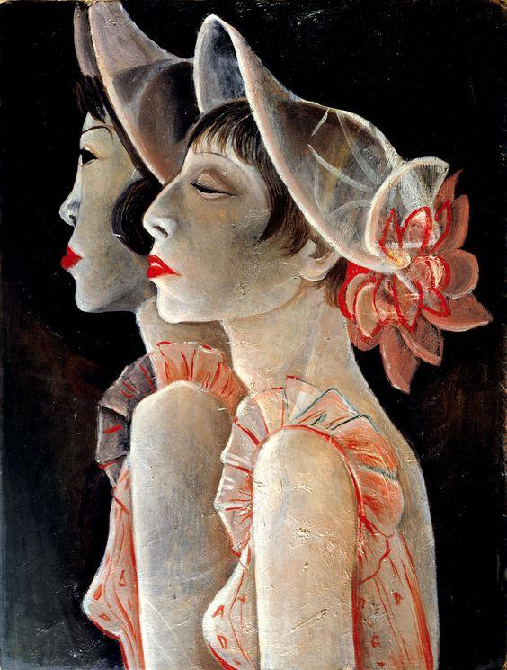 Jeanne Mammen (Berlin 1890-1976), Revuegirls, 1928