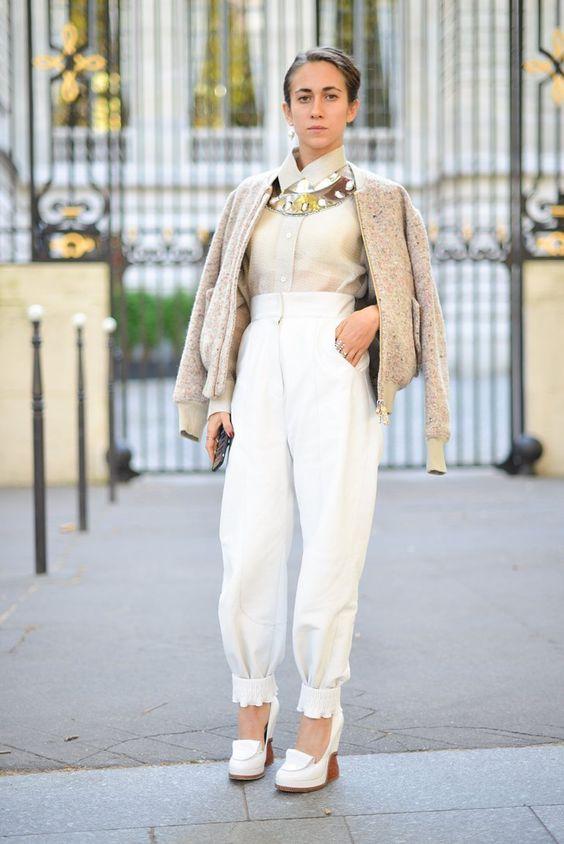 Pin for Later: Die 60 besten Street Style Looks aus Paris Street Style Paris Fashion Week September/Oktober 2015