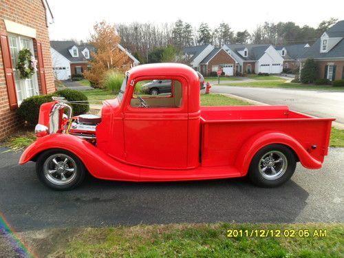 1937 Ford Pickup Hot Rod Hot Rod Pickup Ford Pickup Hot Rods