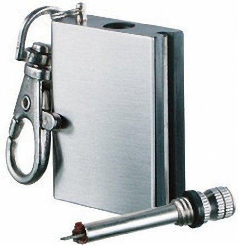 Pocket Fire starter - 15,000 striker Ideal camping Accessory null http://www.amazon.co.uk/dp/B0052N6W7U/ref=cm_sw_r_pi_dp_Hd2-ub1K90NTW