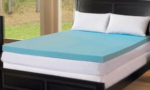 """Groupon - ComforPedic Loft by Beautyrest 3"""" Gel Memory Foam Mattress Toppers; Twin to California King from $ 59.99–$139.99 in [missing {{location}} value]. Groupon deal price: $59.99"""