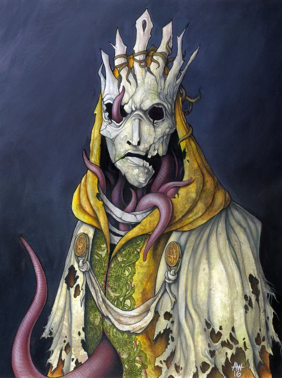 THE KING IN YELLOW (Robert Chambers) by apocalypticon.deviantart.com on @DeviantArt