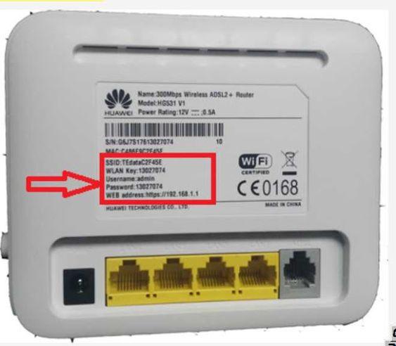 هل تعلم شرح جميع اعدادات راوتر Huawei Hg531 532 V1 لشركة Huawei Power Rating Wifi Password