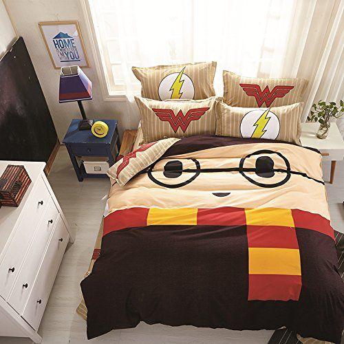 Harry Potter Duvet Cover Pillowcases Harry Potter Room Decor