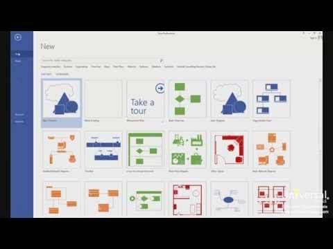 Creating Network And Rack Diagrams With Microsoft Visio 2013 Universal Class Youtube Visio Network Diagram Microsoft Visio Diagram