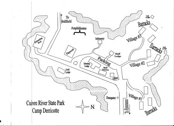 Map Of C Derricotte Cuivre River State Park Mo Layout Hasn't: Cuivre River State Park Map At Codeve.org