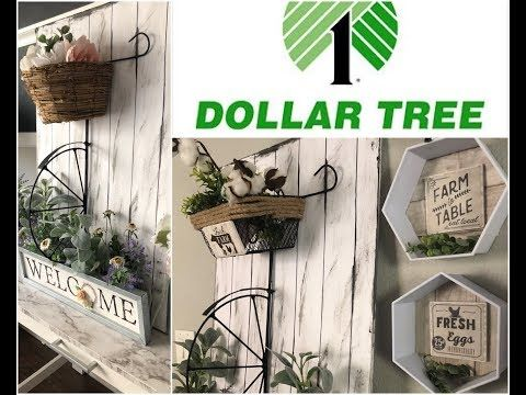My Farmhouse Bike Diy Using Dollar Tree Items For Spring 2019 Youtube Diy Dollar Tree Decor Dollar Tree Diy Crafts Dollar Tree Decor