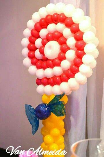 Pirulito de Balões