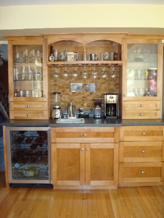 Wet bar designs wet bar ideas diy bar ideas for Dry kitchen ideas